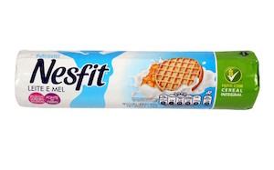 Biscoito Nesfit de Leite e Mel