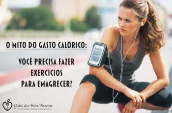 O mito do gasto calórico: você realmente precisa fazer exercícios para emagrecer? (e se manter magra)